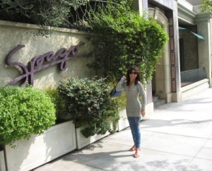 The Dining Diva at Spago Beverly Hills
