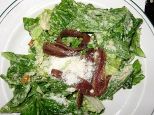 Best Caesar Salad in LA at the Palm