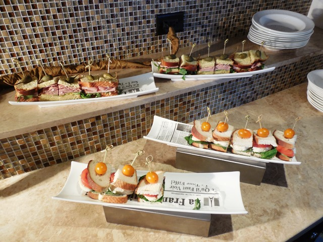 Lunching at the Ritz-Carlton Fort Lauderdale club lounge